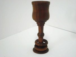 Wedding Goblet or Captive Ring Goblet