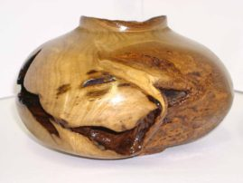 Fly Away - Decorative Maple Vessel