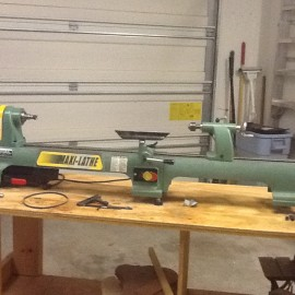 General Maxi Bench Lathe for Sale