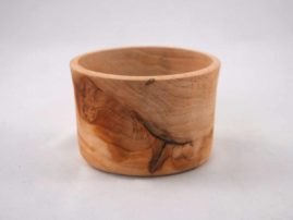 A very fragrant small bowl made of unknown wood