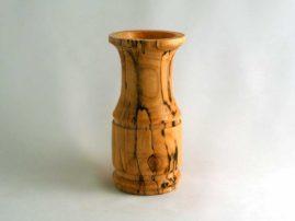 Spalted wax myrtle vase